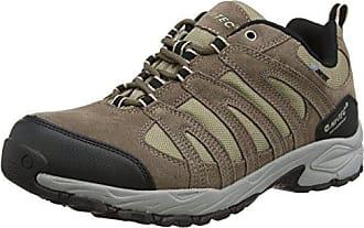 Altitude Trek I Waterproof - Zapatillas de Trekking y Senderismo Hombre, Color Marrón, Talla 45 Hi-Tec