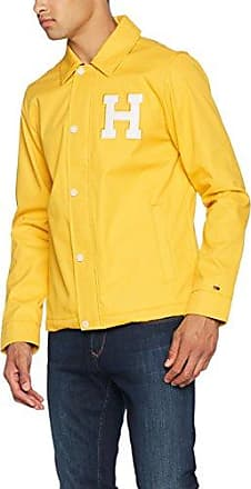 Strett HDD Overshirt, Chaqueta para Hombre, Amarillo (Neon Yellow 8248), Large G-Star