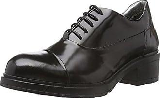 Hip D1072, Zapatillas de Estar por Casa para Mujer, Negro, 36 EU