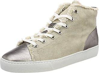 5-10 0366, Zapatillas Altas Para Mujer, Beige (Cotton), 37 EU Högl