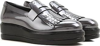 Slip on Sneakers for Women On Sale, Lead Grey, Patent, 2017, 2.5 3 3.5 4 4.5 6 7 7.5 Hogan