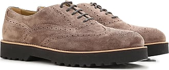 Brogues Oxford Shoes On Sale in Outlet, Swamp, suede, 2017, 4.5 5 Hogan
