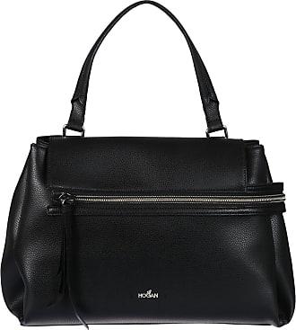 Hogan Clubbing black hammered leather bag zDK6CYzRMz