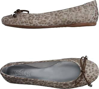 Suede Ballet Flats with Sequined Toe Spring/summer Hogan Z8Edu1U1