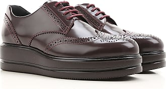 Lace Up Shoes for Men Oxfords, Derbies and Brogues On Sale in Outlet, Swamp, Leather, 2017, 5 Hogan