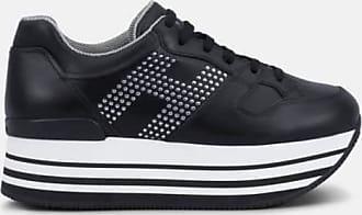 Chaussures De Sport Pour Les Femmes, Noir, Cuir, 2017, 36 36,5 35,5 35 37 38 38,5 40 Hogan