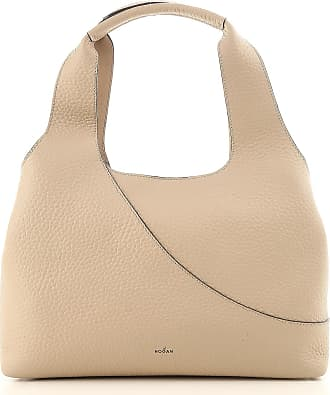 Top Handle Handbag On Sale, Dark Grey, Leather, 2017, one size Hogan