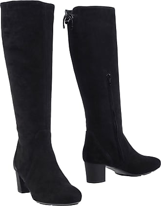 Hogan Woman Faux Leather Over-the-knee Boots Black Size 35.5 Hogan rYaDdb