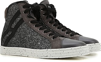 Sneakers for Women On Sale in Outlet, antracite, Glittered, 2017, 4 Hogan