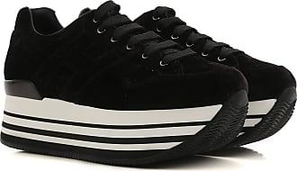 Chaussures De Sport Pour Les Femmes, Noir, Velours, 2017, 36 36,5 35,5 35 37 38 38,5 39 Hogan