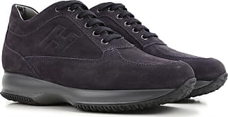 Sneakers for Men On Sale, Bluette, Suede leather, 2017, 6 Hogan