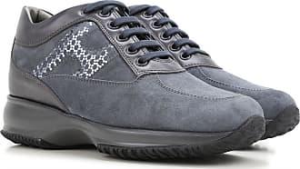 Zapatos de Mujer Baratos en Rebajas, Piedra, Gamuza, 2017, 38.5 Hogan
