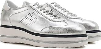 Chaussures De Sport Pour Les Femmes En Vente Dans La Prise, L'argent, Le Cuir, 2017, 4,5 5,5 6 Hogan