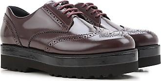 Womens Shoes On Sale, Bordeaux, Leather, 2017, 4.5 Hogan