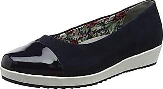 Angel - Anggl/Std/S&P - Zapatos de Tacón con Punta Cerrada de Cuero Mujer, Color Negro, Talla 42 Hotter