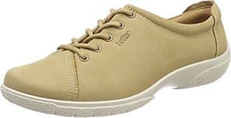 Hotter Mabel, Zapatos de Cordones Oxford para Mujer, Gris (Grey Floral 111), 42 EU