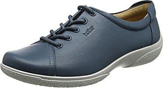 Hotter Mabel, Zapatos de Cordones Oxford para Mujer, Azul (Blue River 105), 37 EU
