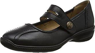 Dew, Chaussures à Lacets Femme - Noir - Noir (Noir Jet), 38Hotter
