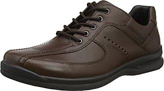 Hotter Mabel, Zapatos de Cordones Oxford para Mujer, Negro (Black Floral 086), 41.5 EU