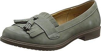 Brooke, Zapatos de Cordones Derby para Mujer, Gris (Duck Egg 081), 38 EU Hotter