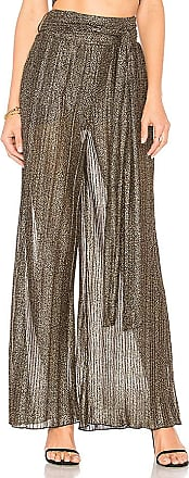 x REVOLVE Drea Pant in Metallic Gold. - size M (also in S,XL,XS) House Of Harlow
