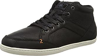 Camden L37 Scarpe Alte da Ginnastica Uomo, Nero (Black/Lt Grey 011), 45 HUB