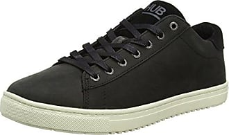 Hub Kingston Mid Original, Baskets Hautes Homme, Noir (Black/Off blanc 156), 41 EU