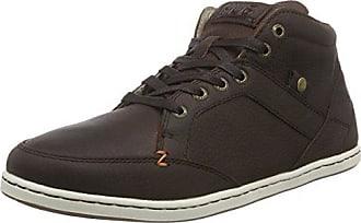 Centre Akita L37 - Chaussures En Cuir À Lacets Femme, Couleur Noire, Taille 42