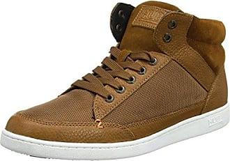 Hub Vermont L30 - Zapatos con Cordones de Cuero Mujer, Color Marrón, Talla 37