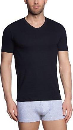 Camiseta interior con cuello redondo de manga larga para hombre, talla 46, color gris 540 Huber