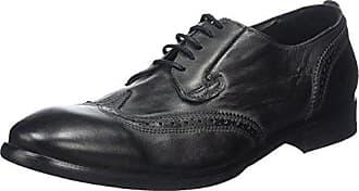 Hudson Hicken, Zapatos de Cordones Derby para Hombre, Negro (Black), 46 EU