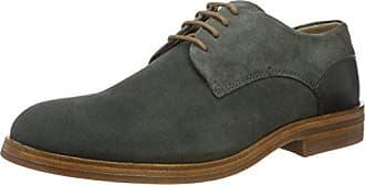 Londres Aiguille À Base - Chaussures À Lacets, Couleur Noir Salut Brillance, La Taille 43