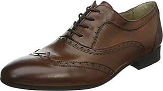 Ellington - Derby de cuero hombre, color marrón, talla 44 Hudson