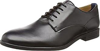 Gould, Chaussures à lacets homme - Noir (Grain Black), 44 EUHudson