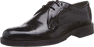 Peggy P5018-013-041 - Zapatos de cordones de cuero para mujer, color marrón, talla 43 1/3 Semler