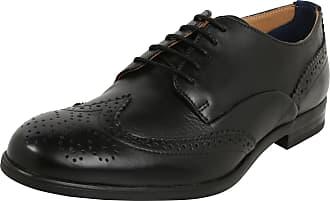 Hudson Chaussure Dentelle Londres « Veau Indus « Brun lA21MPMPNN