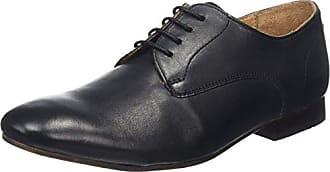 Sergio - Derby Cordones de Cuero Hombre, Color Negro, Talla 47 Hudson