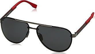 Boss Herren Sonnenbrille » BOSS 0818/F/S«, grau, VQ9/85 - grau