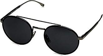 Boss Herren Sonnenbrille » BOSS 0752/F/S«, silberfarben, KCV/HD - silber/grau