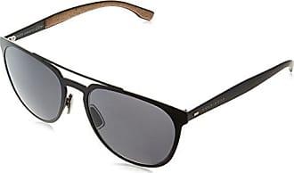 Hugo Boss Herren Sonnenbrille Boss 0803/S EJ Uie, Schwarz (Black Havana/Brown), 51