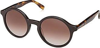 Boss Orange Damen Sonnenbrille BO 0311/S 9O 80S, Schwarz (Black White/Grey SF), 50