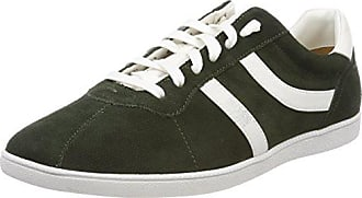 Boss Orange Zephir_Runn_ltdc, Zapatillas para Hombre, Verde (Dark Green 301), 44 EU