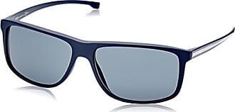 Hugo Boss Herren Sonnenbrille Boss 0879/S SP 0J9, Blau (Mtbluee Crbbl/Bronze Pz), 57