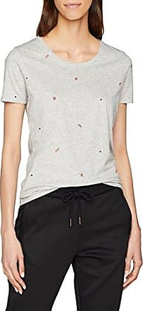 HUGO BOSS Tepicture, Camiseta para Mujer, Plateado (Silver 040), X-Large