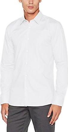 Erriko, Camisa para Hombre, Blanco (Open White 199), Large (Talla del Fabricante: 41) HUGO BOSS