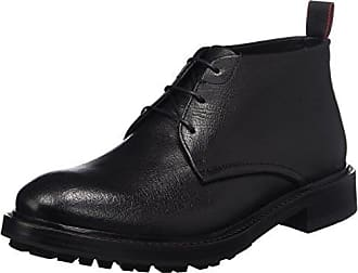 Defend_desb_GR 10201463 01, Desert Boots Homme, Noir (Black),43 EU(9 UK)HUGO BOSS