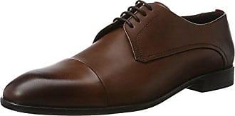 Neoclass_Desb_bu 10193275 01, Chaussures de Ville Homme - Marron (Medium Brown 214) - 43 EU (10 UK)HUGO BOSS