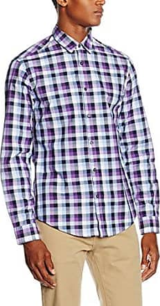 50320136, Camisa para Hombre, Morado (Bright Purple), M HUGO BOSS