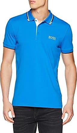 Paule 4, Polo para Hombre, Azul (Bright Blue 434), Medium HUGO BOSS