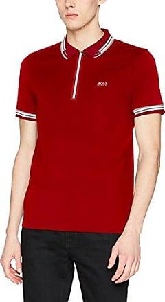 Pascha, Camiseta para Hombre, Rojo (Medium Red 611), Medium HUGO BOSS